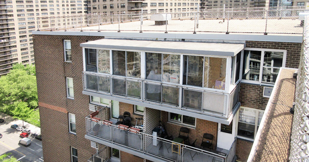 Enclosed Balconies Can Stay Provided