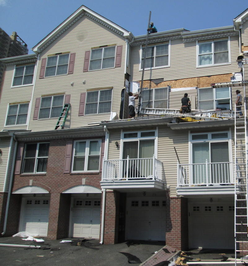 Projects Around Town: Cladding A 36-Building Condo On The