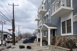 Shore View Condominiums during superstorm-Sandy cleanup, November 2012